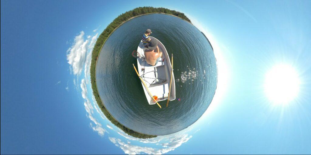360-kuvaus efekti